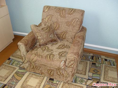 Чехлы на старые кресла своими руками 26