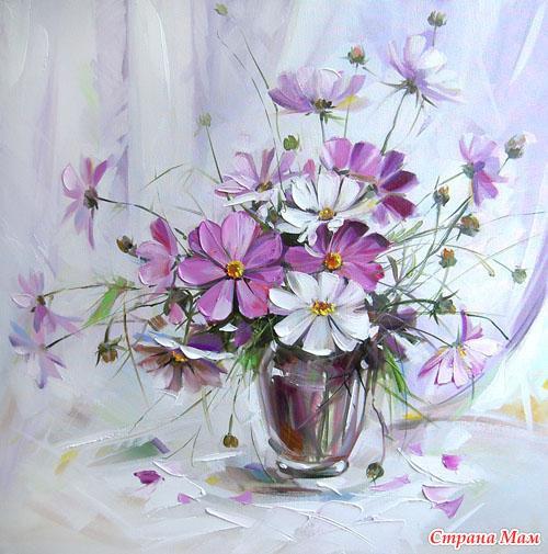 Картинки цветов космеи