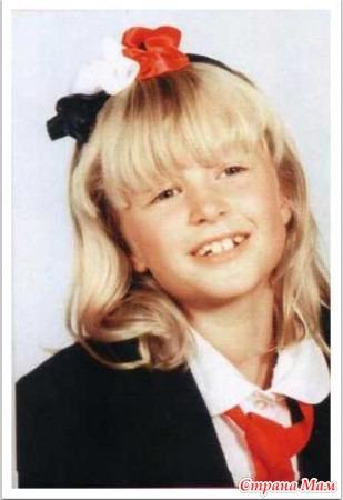 Кира найтли в детстве фото