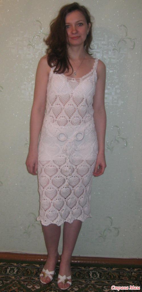 фото платья на модели
