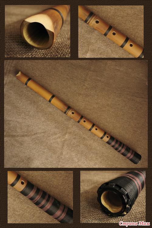Как сделать бамбуковую флейту своими руками 91