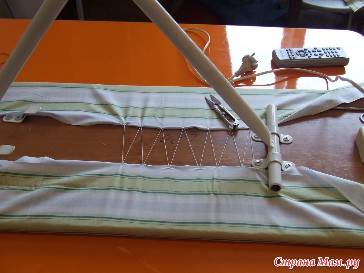 Чехол для гладильной доски Как быстро и просто заменить чехол