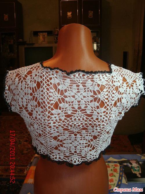 Как связать женский ажурный пуловер спицами на лето: схема и 873