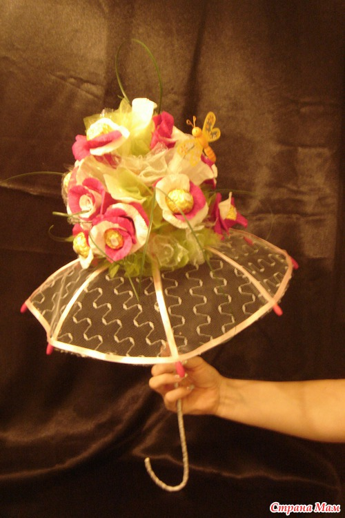 Зонтик мастер класс с пошаговым