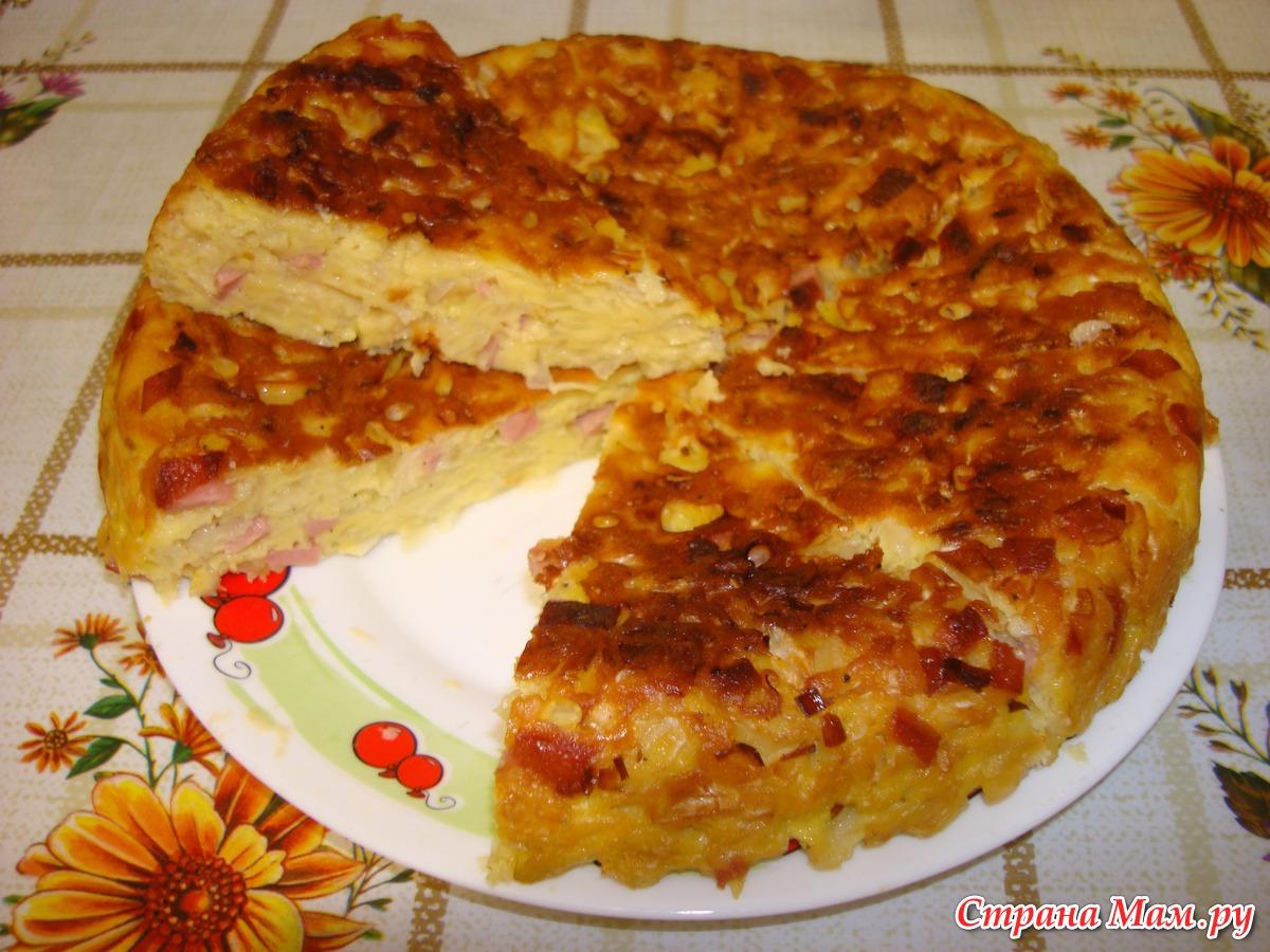 Ленивые пироги рецепты пошагово с