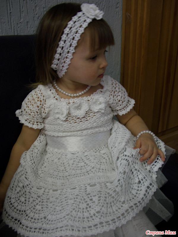 Связать своими руками платье