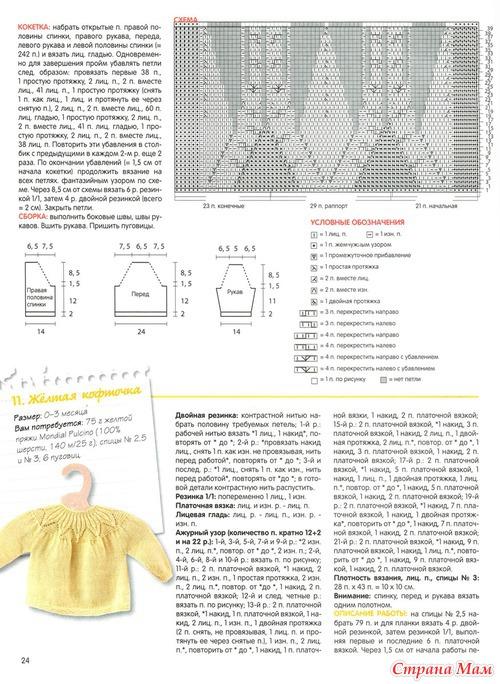 Журналы вязания на спицах с описанием схемами