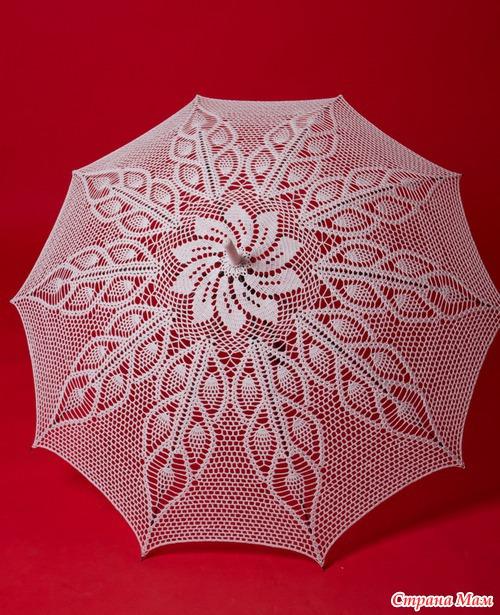 """Так зонт смотрится """"в деле"""":"""