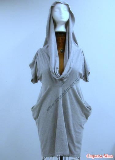 Платье из двух футболок