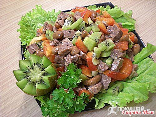 Салат мазурка рецепт с фото