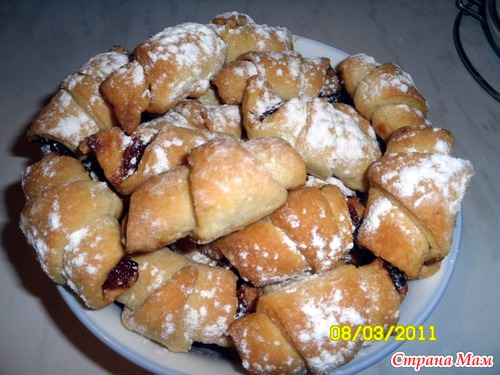 Рецепт быстрого печенья в духовке на майонезе