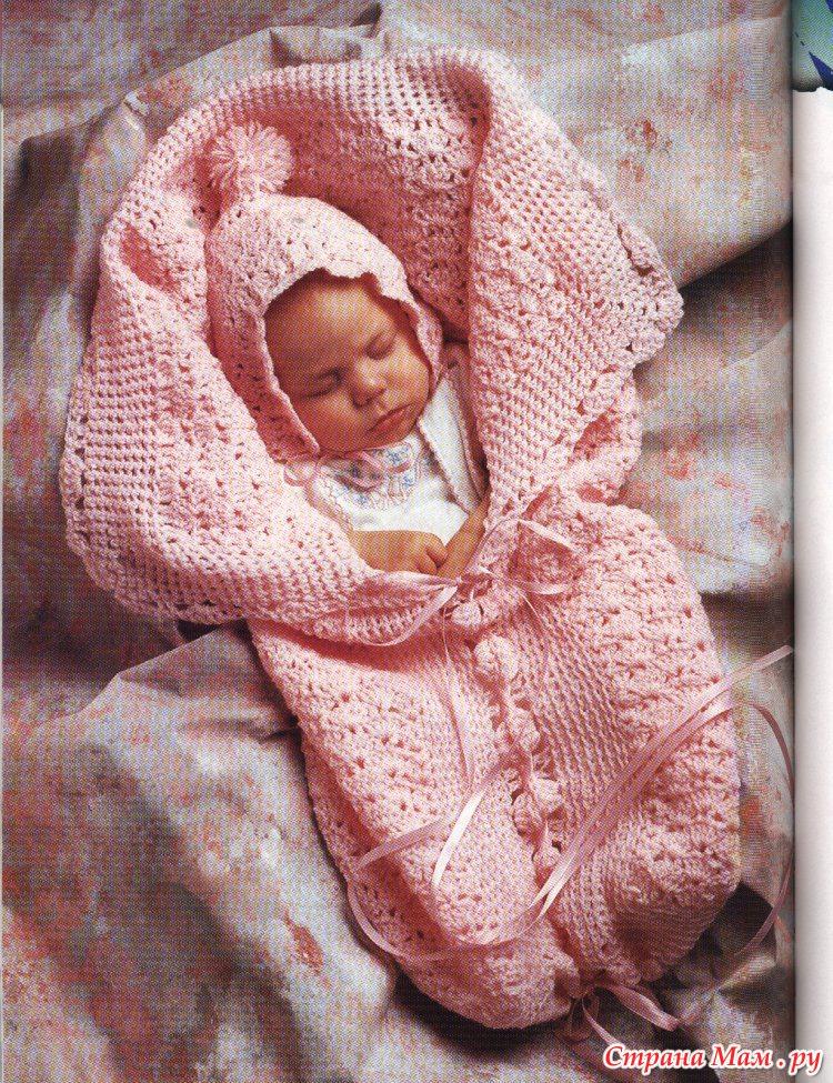 Выкройка тёплого конверта для новорожденного фото 523