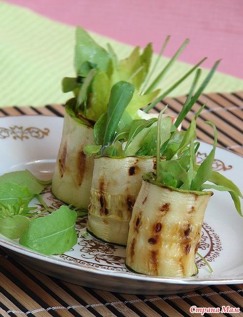 Холодные закуски овощные с фото