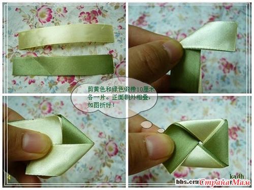Резинки из лент своими руками пошаговая инструкция