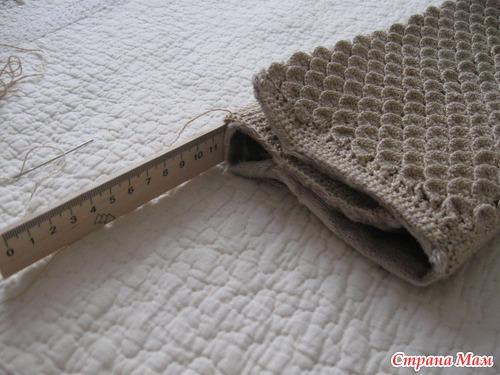 штаны санта из трикотажной пряжи