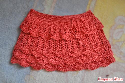 Везание для детей юбка