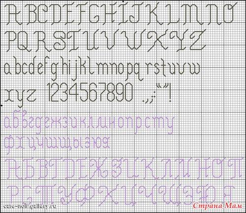 и надписей русский алфавит