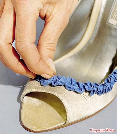 Как декор обувь своими руками