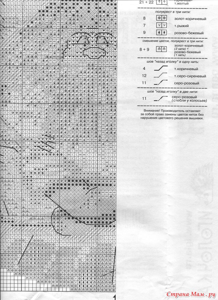Вышивка домовой хранитель очага схема 11