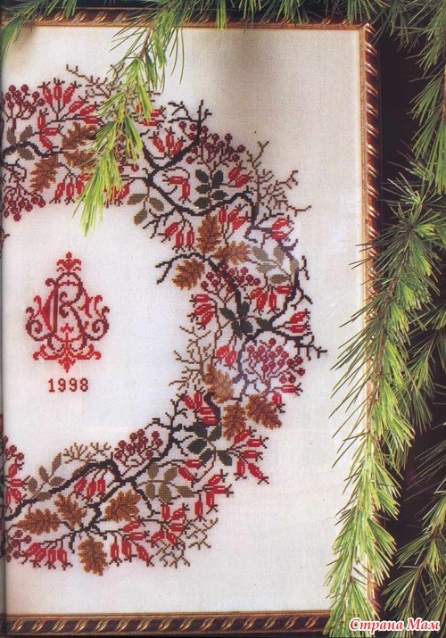 Оригинальные схемы вышивки