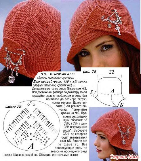 Зимняя шапка связать своими руками