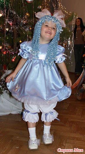 Как сделать платье мальвины