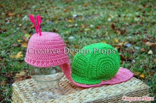 Розовая Улитка для малышки