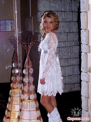 Вязание платья праздничные