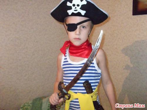 Костюм пирата своими руками из подручных материалов 30
