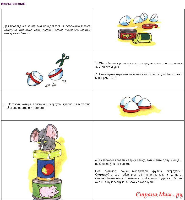 Простые эксперименты в домашних условиях для детей