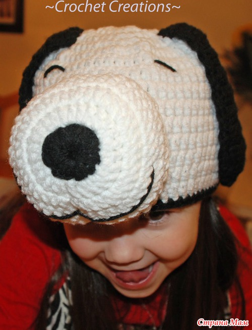 Вязаный Snoopy Собака ребенка