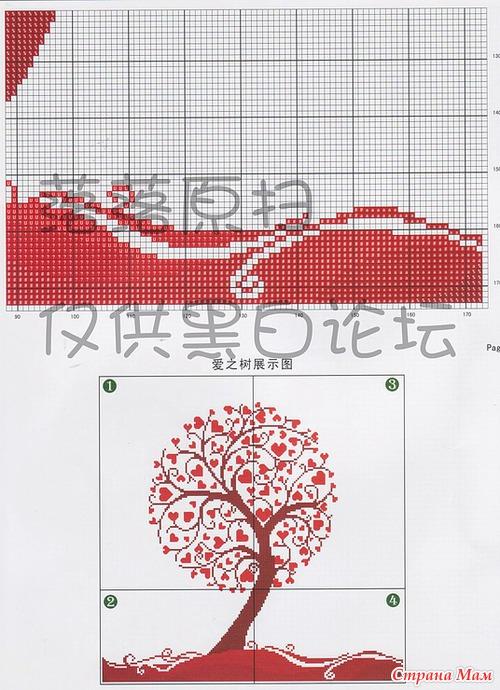 Сердечное дерево. Открыть в