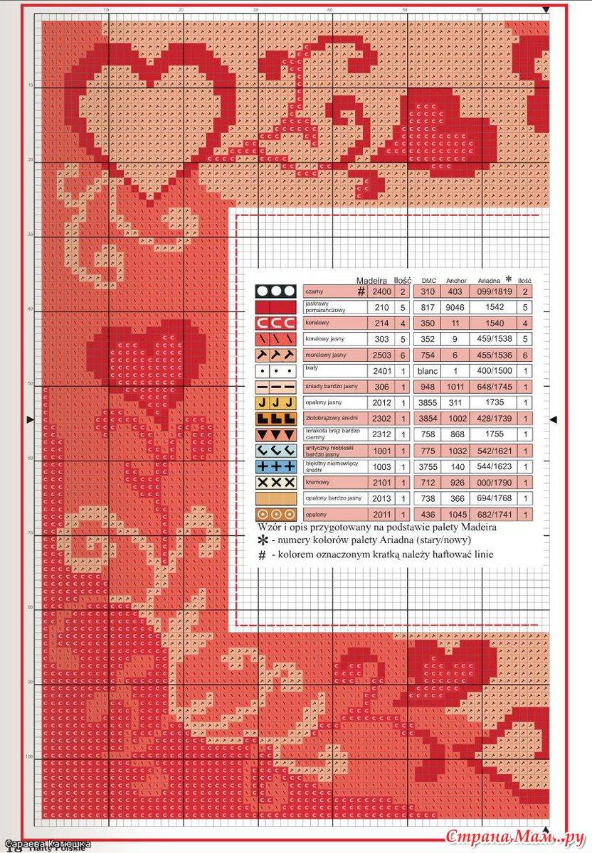 Рамки для оформления вышивки крестом 15