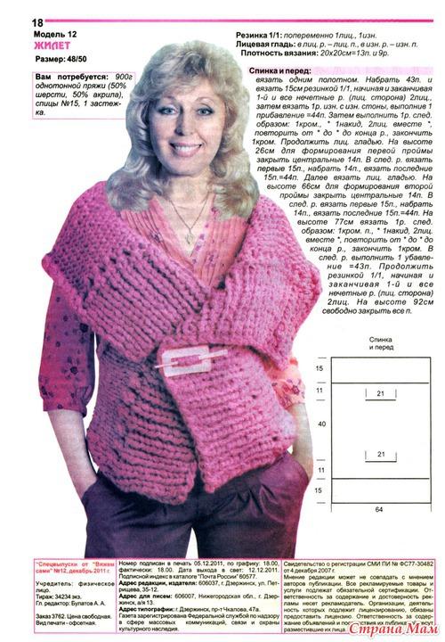 Вязание спицами толстая нить для женщин