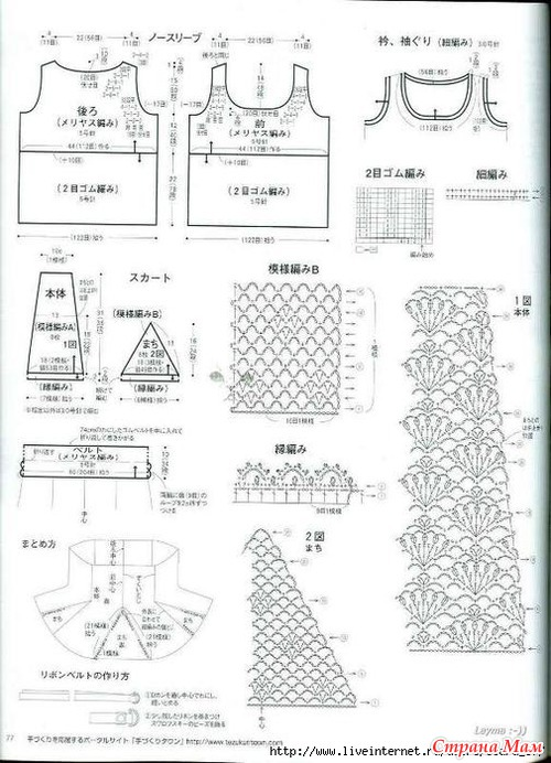 Образцы юбок