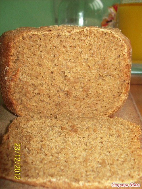 как делать полезный хлеб или хлебцы дома