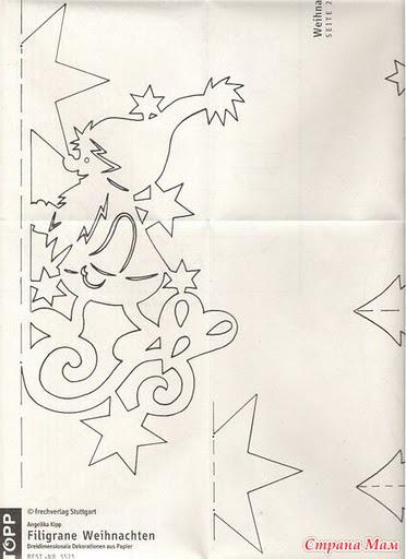 Новогодние поделки из бумаги на новый год своими руками