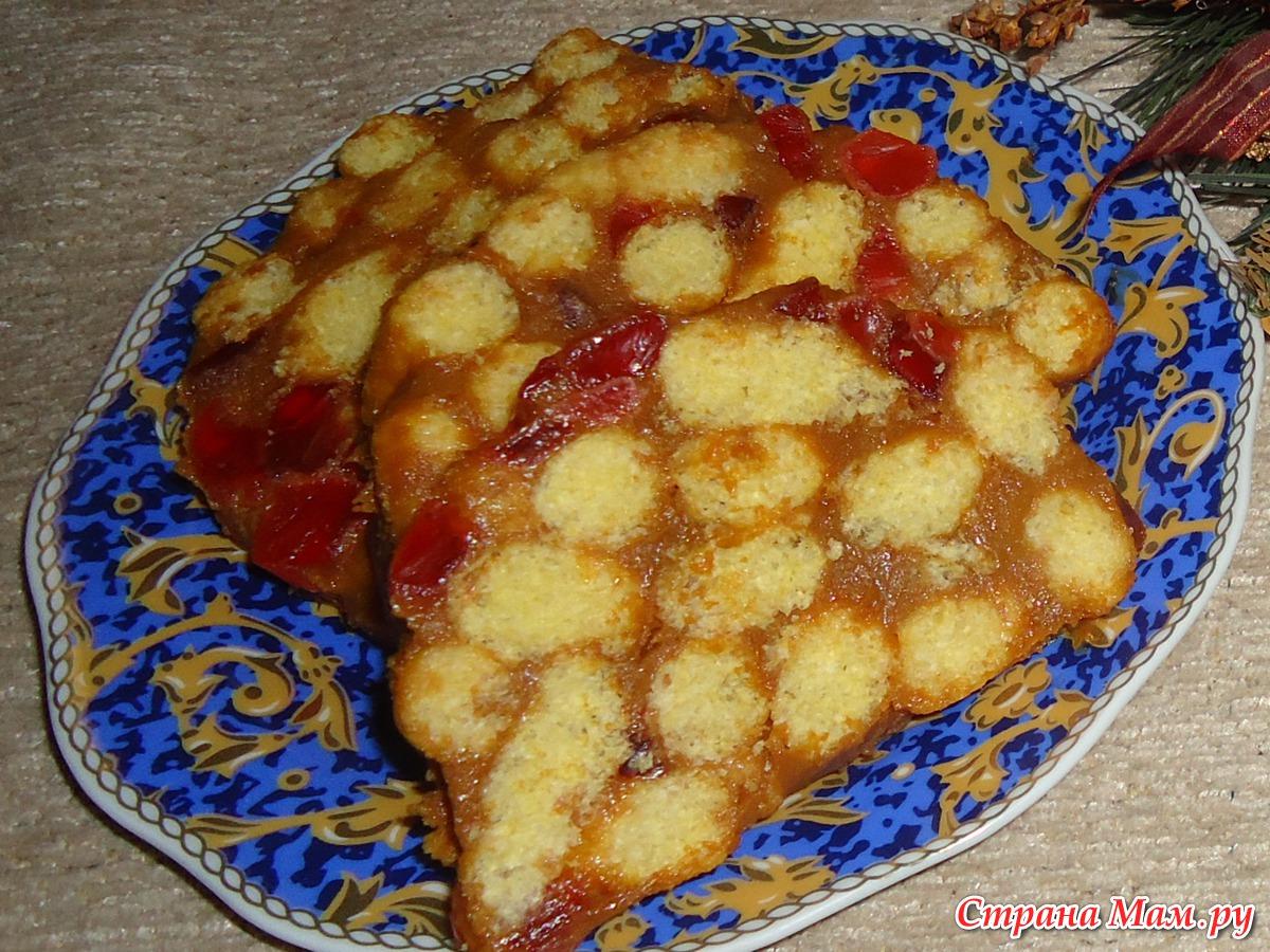 Рецепт торта из кукурузных палочек и сгущенки