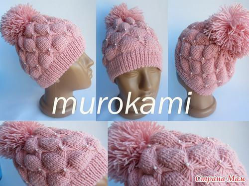 Шапочка от MUROKAMI - Вязание