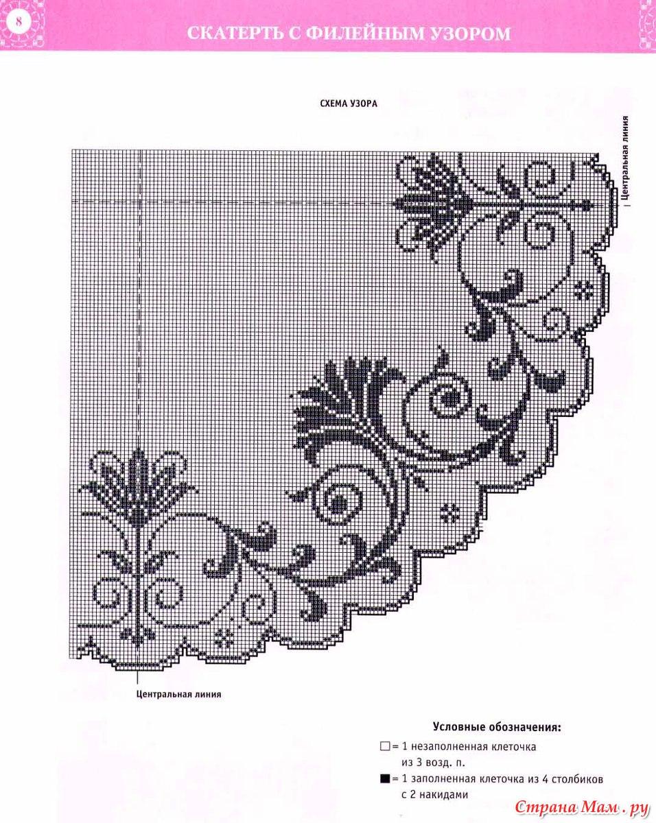 Стильное вязание крючком. Японский журнал со схемами 31