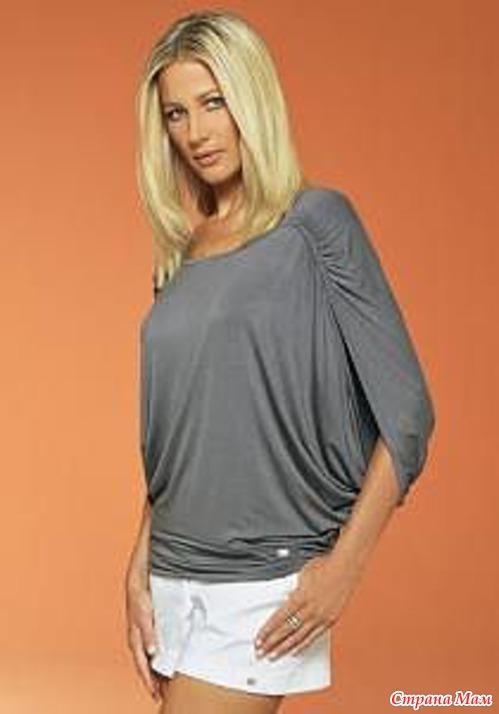 Блузка из круга своими руками фото