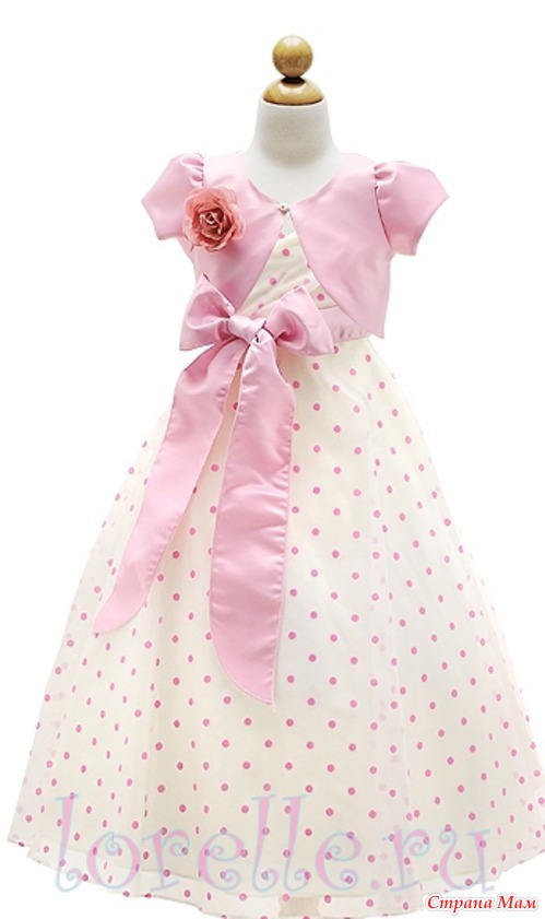Сшить платье на выпускной в садике