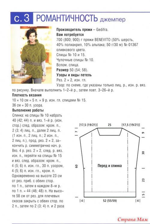 Схема вязания кардигана из толстой пряжи мериноса схема 64