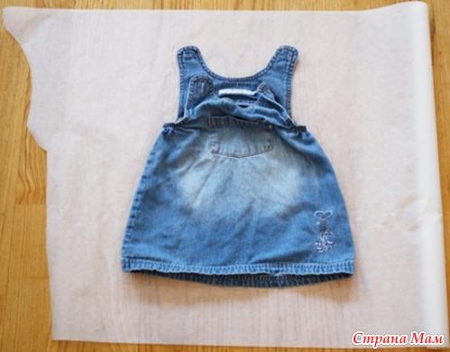 что сшить ребенку из старых джинс