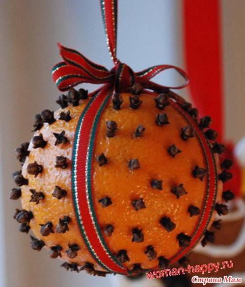 Поделки из апельсина своими руками фото