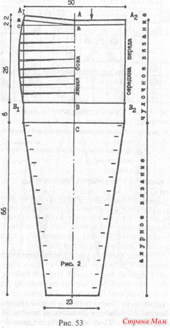 Колготки схема вязания