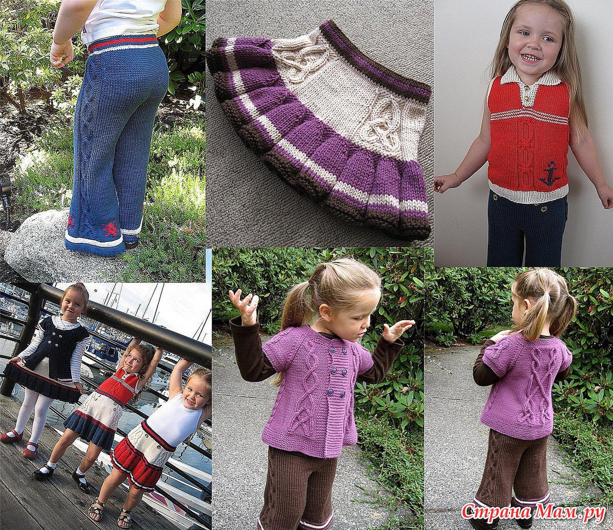 Детские вязание на девочек 76