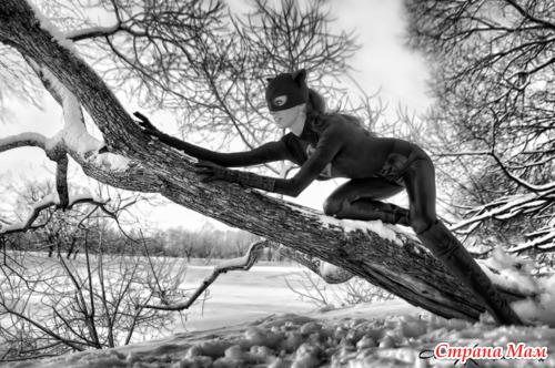 Женщина-кошка. Фрагменты фотосессии.