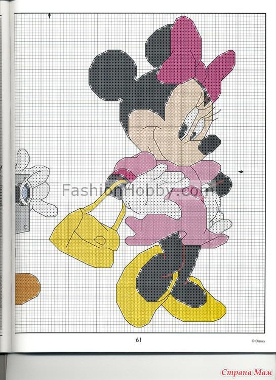 Схемы для вышивки микки маус 19