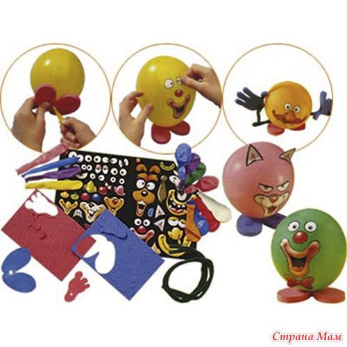 Поделки для детей из воздушных шаров